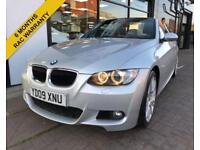 2009 09 BMW 3 SERIES 320D M SPORT DIESEL CONVERTIBLE FINANCE AVAILABE