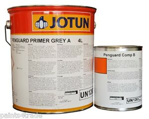 jotun penguard hb grp alloy epoxy primer paint 5l grey