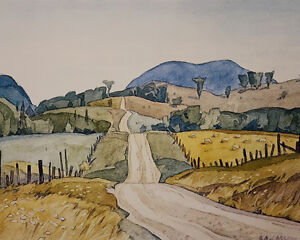 """A.J. Casson """"Country Road"""" Lithograph - Appraised at $500"""