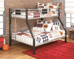 Ashley Furniture now available! Bunk Beds at Recession pricing!