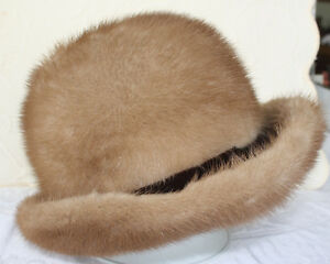 Lovely Women's Mink Fur Hat Size Large With Original Box London Ontario image 1