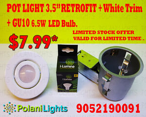 BLOWOUT SALE ON LED BULBS & POTLIGHTS  # POT LIGHT # POT LIGHTS