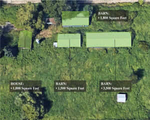 FOR SALE - 9.98 Acres Land Only