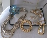 ALL VINTAGE MONET.......LOT PRICE $125.00 for ALL...OR...