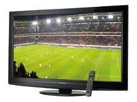Panasonic 46 inch Full HD 1080p TV, 600Hz, Freeview + FreeSat HD built in, 4 x HDMI not 42 43 47 48