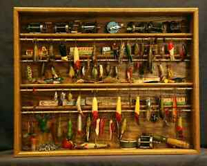 WANTED: old fishing lures, rods, reals, tackle boxes...