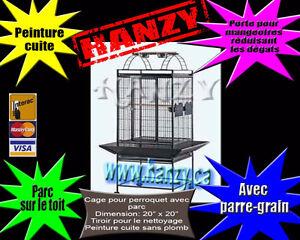 Cage Neuve pour petit perroquet avec parc