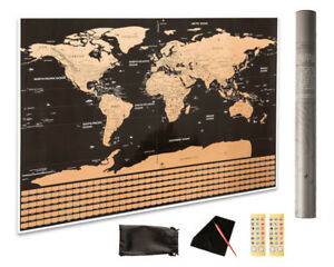 Scratch Off The World Maps