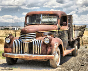 Rustic PRINTS: Vintage Vehicles, Farms, Barns, Countryside etc.