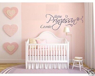 Wandtattoo Kinderzimmer Tür Baby kleine Prinzessin  +  WUNSCHNAME 72023.1-NAME ()