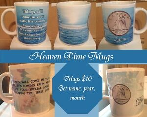 Heaven Dime Mugs & Personalized
