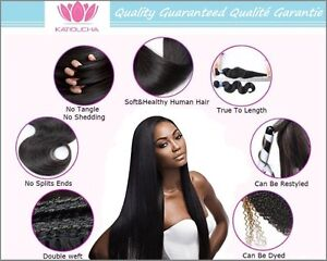 """100% Virgin Human Remy Hair Extensions,20"""",7A,100g,Unprocessed St. John's Newfoundland image 5"""