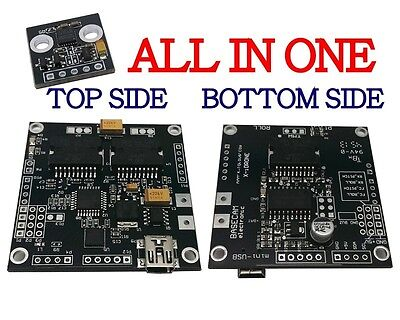 AlexMos Gimbal Brushless Controller V2.4b7 w IMU and 3rd Axis Extension Board