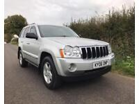 2006 06 JEEP GRAND CHEROKEE V6 CRD LIMITED DIESEL