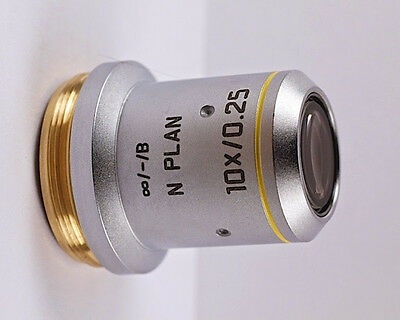 Leica N Plan 10x 0.25 Infinity Microscope Objective