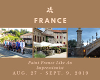 3rd Paint France Like An Impressionist Group Tour