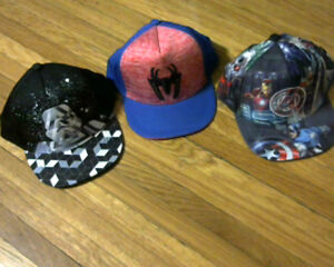 Marvel Kids Adjustable Baseball Caps.Brand new with tags.[new]