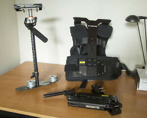 Glidecam 4000 Pro / Smooth Shooter vest and arm