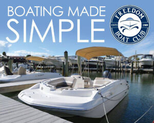 Freedom Boat Club  -  Enjoy a boat with none of the hassle!