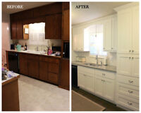 LOOKING FOR A NEW KITCHEN? NEW BATHROOM? FINISH YOUR BASEMENT?