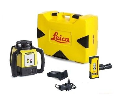 Rotating Laser Leica Rugby 620 W Rod Eye 140 Li-ion Battery Package 6005984
