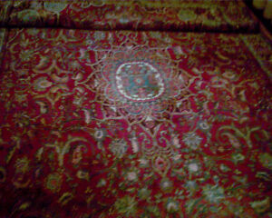Very Thick Bidjar Persian Carpet: Hand Knotted Wool (13 by 7)'