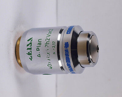 Zeiss A-plan 40x Ph2 Var2 Phase Contrast Infinity Microscope Objective