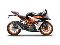 KTM RC 390 - FINANCE OPTIONS AVAILABLE