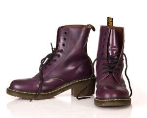 Dr Martens 8 eye purple boot Womens Size 11 ( 9 UK)
