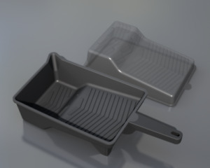 Paint tray and liner tools (molds)