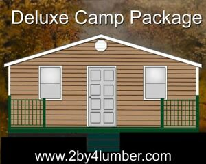 Deluxe Camp / Cottage Package s