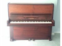 Lovely old piano with free piano stool