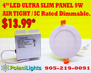 "LED ULTRA SLIM PANELS 4"" & 6""  !!!BLOWOUT SALE!!!"