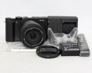 Fuji Fujifilm X-A1 Fujinon 16-50mm 1:3.5-5.6 16.3MP Black $245