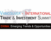 Vancouver International Trade Summit – CHINA: Emerging Trends &