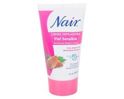 Nair Hair Remover Delicate Sensitive Skin Sweet Almond Oil~150ml~Quality Product