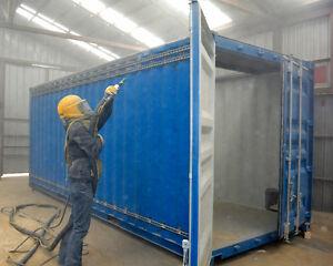 Industrial Sandblasting/Painting/Powdercoat
