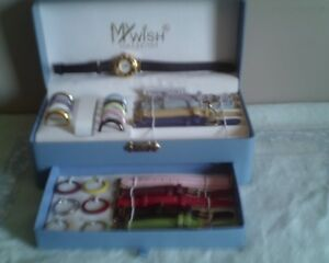SELLING A VERY NICE INTERCHANGEABLE WATCH SET