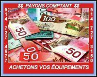 *ACHETONS*PAYONS COMPTANT*ÉQUIPEMENT COMMERCIAL..