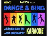 DJ/Karaoke Host Available Dance and Sing with Jammin Jimmy