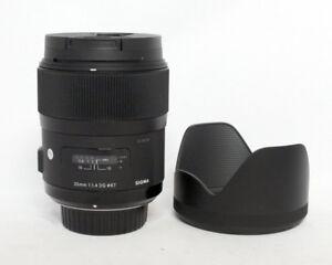 Sigma 35mm 1:1.4 DG ART Series Nikon Mount $875