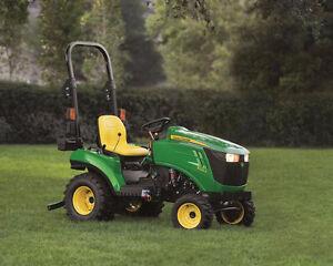 John Deere 1023E Diesel Compact Tractor $13999+GST  0% 84 mths
