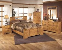 Queen Ashley furniture bedroom set Best price ever NEW IN BOX
