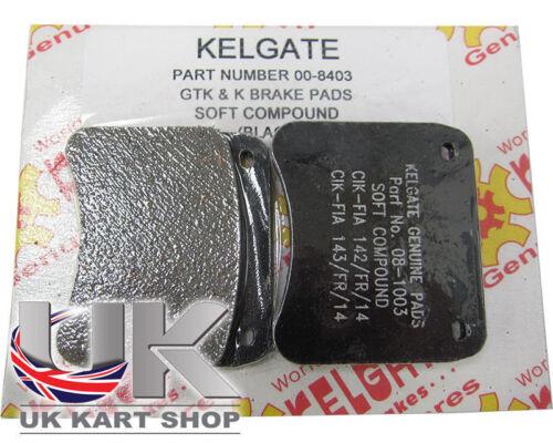 Kart Kelgate Kgtk Black (Soft) Brake Pads - Best Price On Ebay Great Value