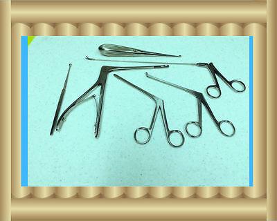 New 6 Arthroscopy Arthroscopic Sinoscopy Rhinoscopy Instruments Set Stainless