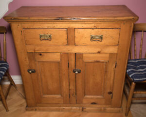 Antique Buffet - Solid Pine