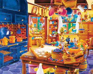 Jigsaw Puzzle 1000 Piece Bakers Kitchen