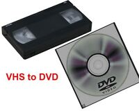 vhs conversation to DVD