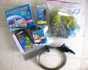 Kit pour aquarium poisson tropicaux