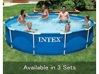 12ft swimming pool with cover brand new for sale  Coleraine, County Londonderry